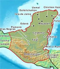 mayans mexicanart info mexican art history from prehistoric to Mayan Cities Map mayans mexicanart info mexican art history from prehistoric to modern times mayan city map