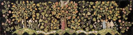 english embroidery of the late tudor and stuart eras essay  garden of eden