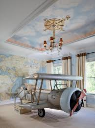 Nice Wallpapers For Bedrooms Unique Modern Airplane Themed Chidren Beds With Nice Wall Murals F