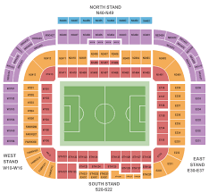 Wakemed Stadium Seating Chart Soccer Tickets