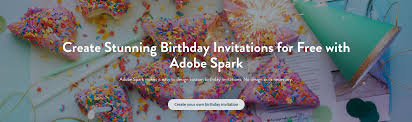 Design Your Own Birthday Party Invitations Make Your Own Birthday Invitations For Free Adobe Spark