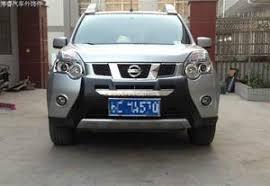 <b>Защитная накладка на передний</b> бампер для Nissan X-Trail 2007 ...