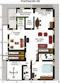 20 x 60 house plans west facing