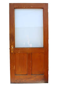 sold large salvaged 40 exterior oak door with glass