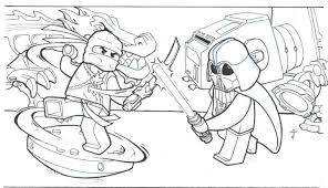 Small Picture Lego Ninjago Star Wars Coloring Pages Coloring Pages For Kids
