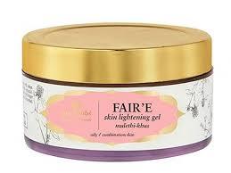 just herbs fair e mulethi khus skin lightening gel skin lightening creams