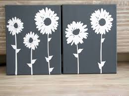 decorating nifty white sunflower wall art ideas with clean wood floor kitchen decorating ideas on diy sunflower wall art with decorating spring house interior wall art ideas with abstract art