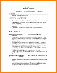 Medical Assistant Resume Templates 100 Medical Assistant Resume Template Top Templates Examples Skills 40