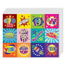 Amazoncom Creanoso Positive Words Motivational Stickers 10 Sheet