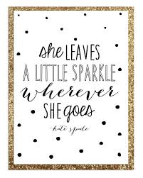 Kate Spade Quotes Impressive Poster Quote Design Kate Spade Inspired Yes I Poop Glitter