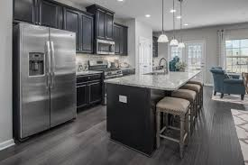 your new kitchen has space for you to spread out while cooking and entertain friends