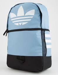 Adidas Backpack Light Blue Originals Trefoil Light Blue Backpack