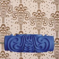 Patterned Paint Roller Designs New Decorating Design