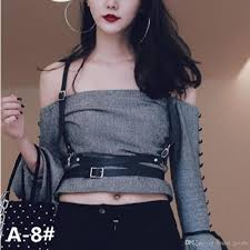 gothic suspender women leather harness fashion y punk cross sculpting waist belt 100 handmade female belts harajuku harness 60style belt buckles