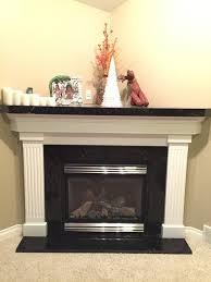 polished titanium granite fireplace surround mantel and hearthmodern calgary