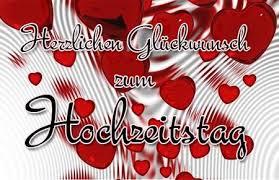 Herzlicher Glückwunsch Zum Hochzeitstag Happy Anniversary