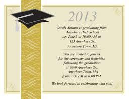 Invitation Template Free Graduation Invitation Templates For Word