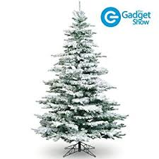 Frosted Christmas Tree 10ft - Flocked Noble Pine - Artificial Christmas Tree