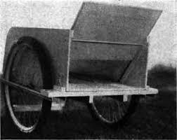 garden cart plans. build a rolling garden cart plans