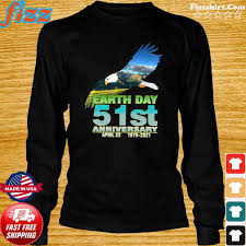 Topics will include climate and environmental literacy, climate restoration technologies, reforestation efforts. Eagle With Earth Day 51st Anniversary April 22 1970 2021 Shirt Hoodie Sweater Long Sleeve And Tank Top