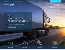 best transportation wordpress themes athemes transcargo