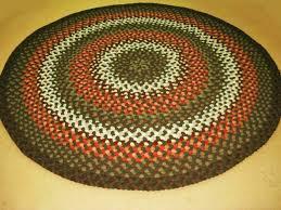 large round braided rugs