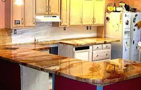 concrete countertop refinishing kit concrete kitchen countertop paint