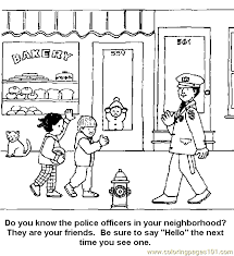 Small Picture Free Printable Police Coloring Pages Coloring Coloring Pages