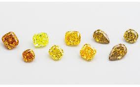 Yellow Diamond Vs White Diamond Coloured Diamonds Durham Rose
