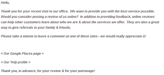 Another Way To Say Customer Service How To Ask Customers For A Review And Get Better Ratings