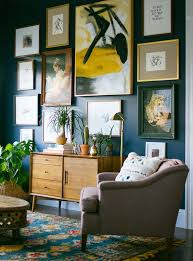 you can choose a giant abstract piece as a centrepiece of your wall
