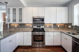 U Shaped Kitchen Picture Of U Shaped Kitchen Design In White With White Wooden