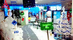office christmas theme. Christmas Themed Office Decoration With Snoman And Other Symbols Theme C
