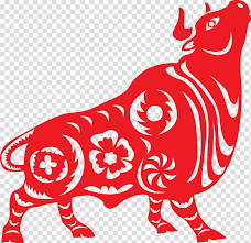 At the same time, oxen can be strong willed, and behind their beautiful, serene. Goat Ox Cattle Chinese Zodiac Astrological Sign Astrology Papercutting Horoscope Transparent Background Png Clipart Hiclipart