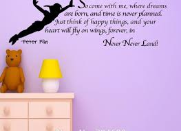 peter pan wall decal lovely best wall