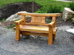 japanese timber bench garden bench