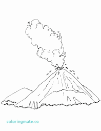 On february 28, 2020 by coloring.rocks! Volcano Diagram Coloring Pages New Volcano Diagram Coloring Pages Meriwer Coloring