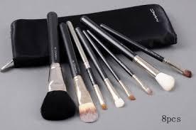mac makeup 8pcs brushes set outlet