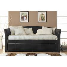 For Living Room Decor Furniture Cool Black Trundle Daybed For Living Room Decor