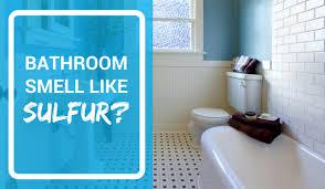 bathroom drain smells