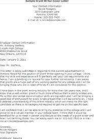 Sample Cover Letter For A Grant Proposal Sample Funding Request