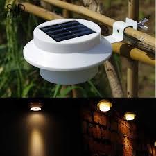 super bright yard lamp solar panel garden light 3 led lights outdoor