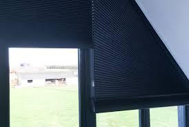 Triangular Windows  Bobbin House Self Build Norfolk UKBlinds Triangular Windows