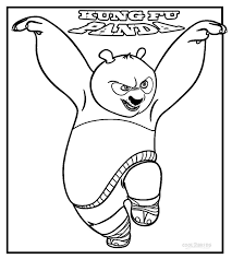 Small Picture Coloring Pages Printable Kung Fu Panda Coloring Pages Coloring Me