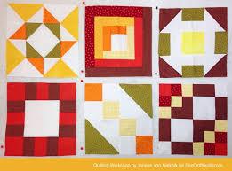 Free Domino Quilt Block Pattern + Workshop (#24) | Sampler quilts & Free Domino Block Pattern, plus Online Quilting Workshop FOR BEGINNERS ....  Love Adamdwight.com
