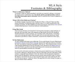 Mla Citation Template 26 Different Bibliography Format Templates Free Pdf Doc