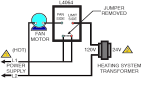 basic wiring diagram for a furnace wiring diagram schematics how to install and wire the honeywell l4064b combination furnace