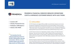 Primerica Life Insurance Reduces Costs With Asg Tmon