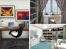 home office designs. Brilliant Office Three Home Office Designs Created With RoomSketcher Home Designer With Office Designs N