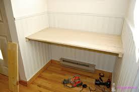 Modern Diy Built In Desk Plans